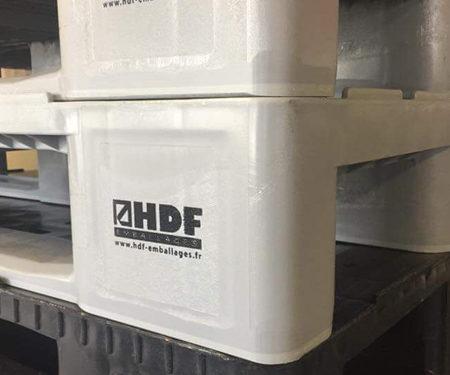 Palettes plastiques HDF Emballages